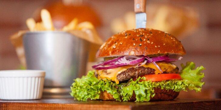 Kvalitné domáce burgre pre všetkých milovníkov dobrého jedla