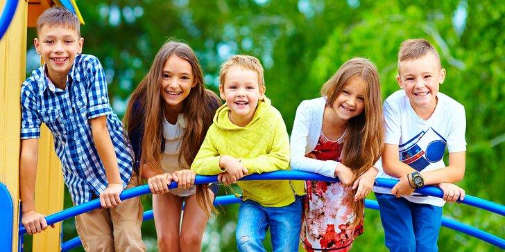 Víkendový OFFLINE zážitkový tábor pre deti