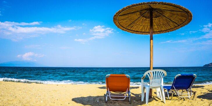 Hor sa na preslnenú pláž: 7 až 19 nocí na Chalkidiki v Grécku vr. dopravy