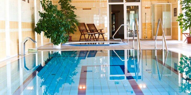 4* hotel s wellness v centre Sárospataku, s polpenziou a welcome drinkom