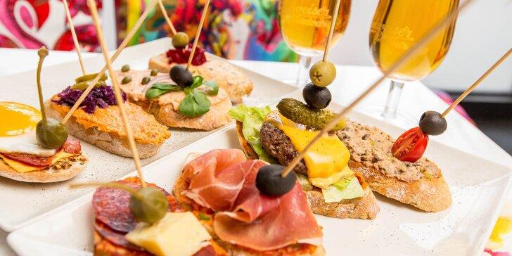 Nefalšovaná chuť španielského tapas v obľúbenom Tapas bare