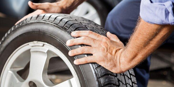 Prezutie a vyváženie pneumatík