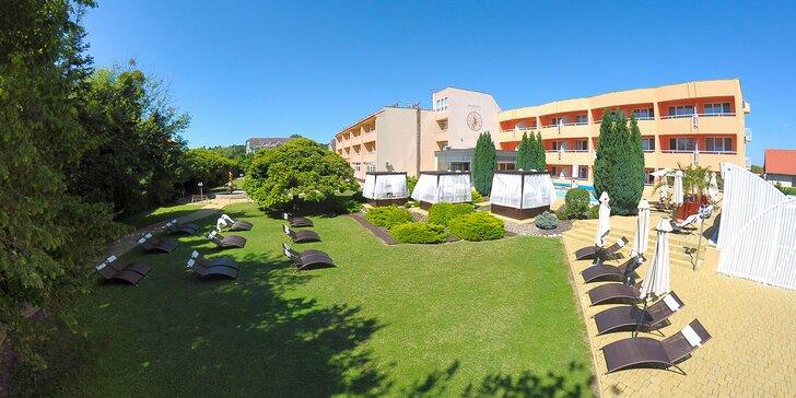 Relax v hoteli s termálnymi bazénmi v kúpeľnom Zalakaros neďaleko Balatonu