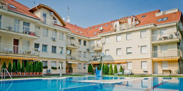 Jarný alebo letný relax s neobmedzeným vstupom do wellness a polpenziou v Maďarsku