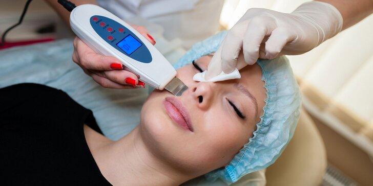 Čistenie pleti: manuálne, ultrazvukové, s ozonizérom, s RF liftingom a kyselinou hyalurónovou