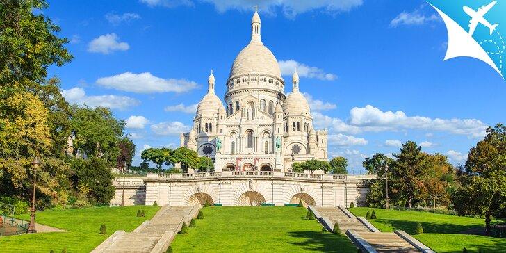 5-dňový letecký zájazd do Paríža s možnosťou návštevy Disneylandu