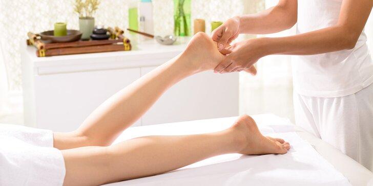 Lymfodrenážna masáž s reflexnou terapiou pre ženy