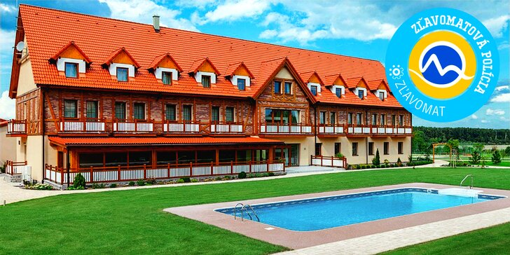 Pobyt v Hoteli Malvázia**** s wellness, vonkajším bazénom, areálom s parkom a jazerom na člnkovanie