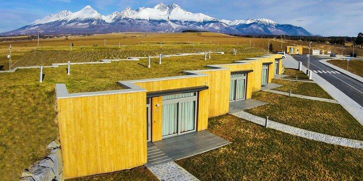 Skvelý jarný pobyt v nových apartmánoch pod Tatrami s krásnym výhľadom