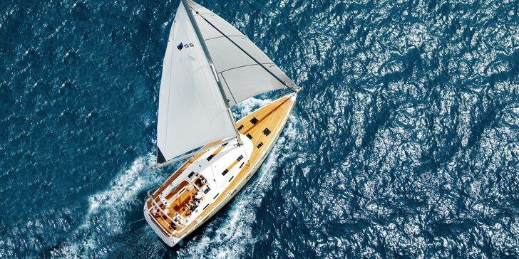 Plavba plachetnicou: 8 dní na vlnách s vyplávaním z chorvátskeho prístavu