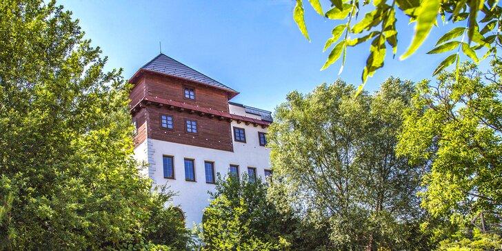 Oddychový pobyt na južnej Morave s jedlom, vínom aj vstupom do wellness