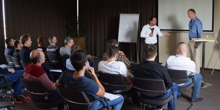 Vstupenky na trojdňový seminár Magnet na ženy v Bratislave