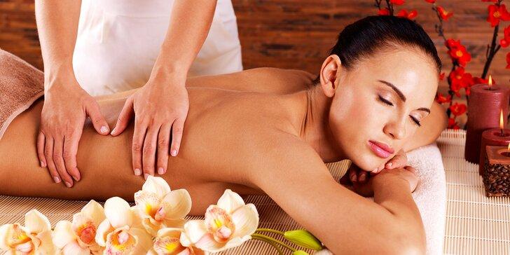 Aroma masáž podľa vlastného výberu v SoulBodyMind