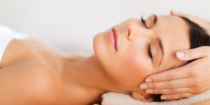 Ošetrenie pleti s masážou alebo anti-age procedúra