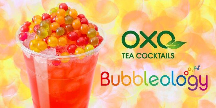 Zažeňte smäd obľúbenými čajmi od Bubbleology by OXO Tea Cocktails