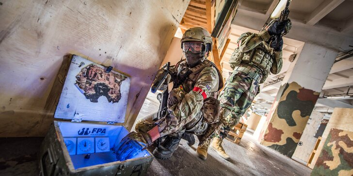 Laser game - akčná prestrelka v PAPA aréne