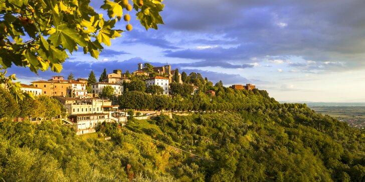 Až 5 nezabudnuteľných romantických nocí v kúpeľnom mestečku v srdci Toskánska