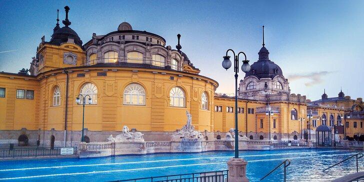 Ubytovanie priamo v centre Budapešti so vstupom do kúpeľov