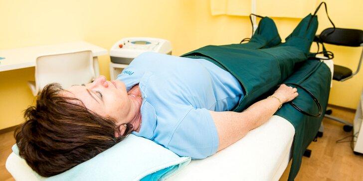 Lymfodrenážna masáž prístrojom DIGI PRESS