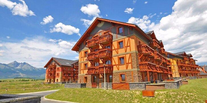 FIRST MINUTE letný pobyt v apartmánoch Tatragolf**** Mountain Resort