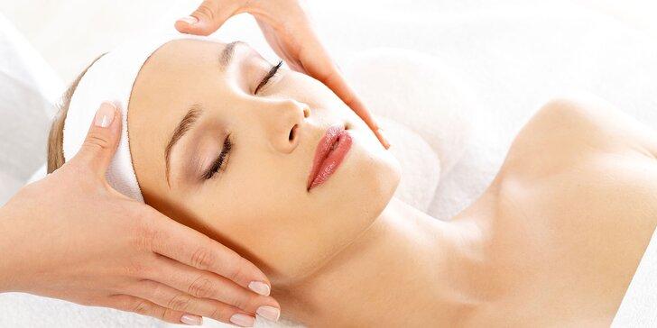 Ošetrenie pleti s relaxom a vitamínmi