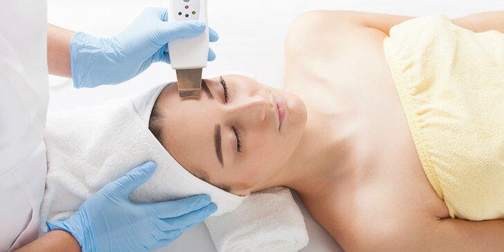 Profesionálne ultrazvukové čistenie pleti či úprava obočia