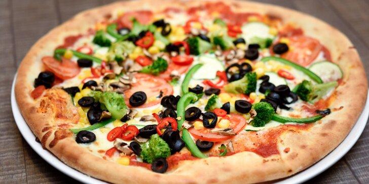Pizza pečená na dreve: vyberajte z 19 druhov!