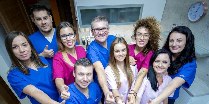 Alexia creative, zubné ambulancie Poliklinika Východ a OC Ondava