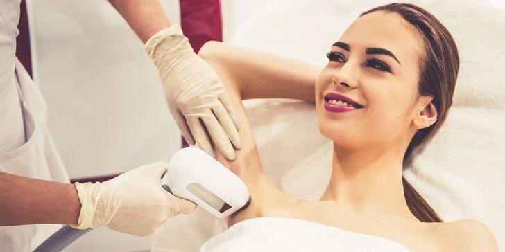 Najnovšia E-light epilácia - trvalé odstraňovanie chĺpkov