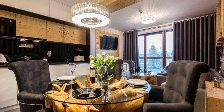 Pobyt pre pár či rodinu v luxusnom apartmáne v Aparthoteli Góralski v obľúbenej Białke Tatrzańskej, aj so vstupmi do Terma Bania!