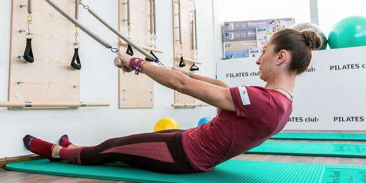 Vstup na 50 minútové cvičenie pilates v Pilates Clube