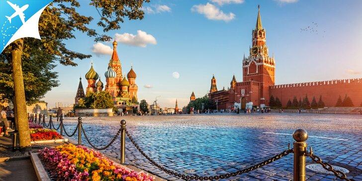 4 - dňový letecký zájazd do Moskvy s bohatým programom
