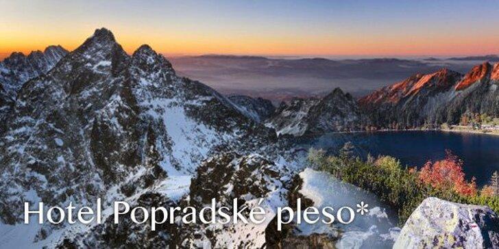 69.- za 3-dňový vysokohorský pobyt pre DVOCH v hoteli Popradské Pleso vo Vysokých Tatrách! Fantastická lyžovačka, božské ticho a nádherné večery v našich veľhorách!