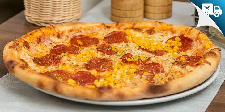 Pizza podľa vlastného výberu - aj rozvoz!