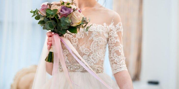 Voucher v hodnote 100 € na nákup, požičanie alebo šitie svadobných šiat