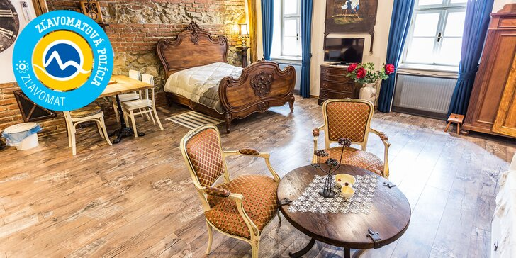 Nezabudnuteľné ubytovanie ako stvorené pre dvoch v romantickej Banskej Štiavnici