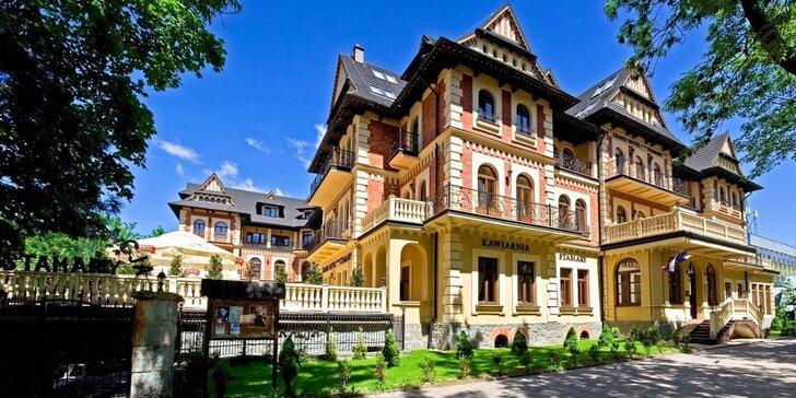 Jedinečný pobyt v Grand Hotel Stamary**** v Zakopanom