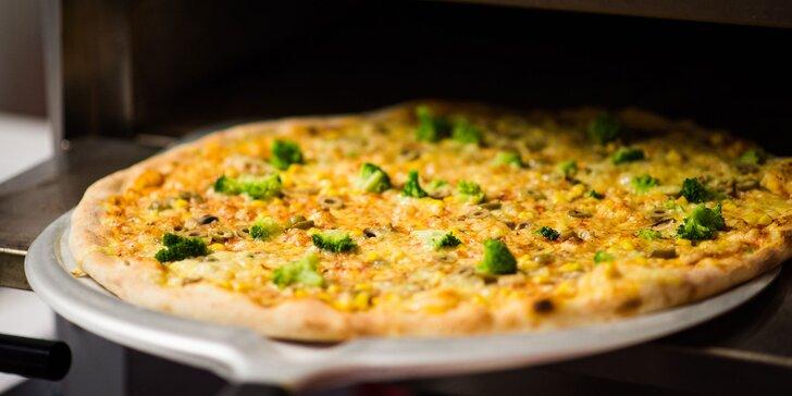Pizza XXL alebo Pizza Classic podľa vlastného výberu