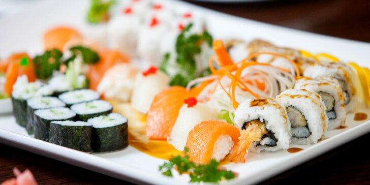 Degustačné sushi menu pre dvoch v Shanghai reštaurácii