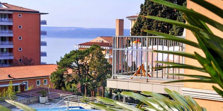 Štýlový hotel v slovinskom Portoroži len 200 m od pobrežia Jadranského mora s polpenziou