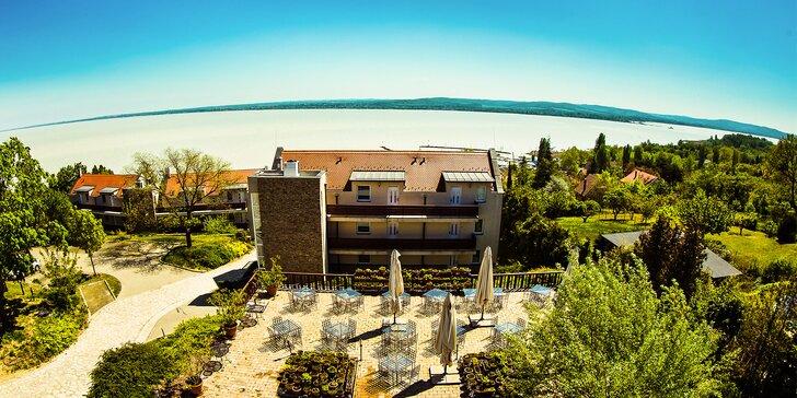 Užite si najkrajší výhľad na Balaton v malebnej oblasti Tihany