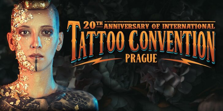 Vstupenka na medzinárodný tatérsky festival Tattoo Convention 18.-20.5.2018