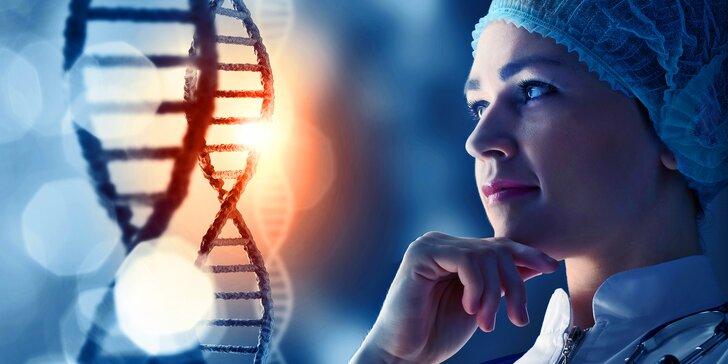 Genetický test pôvodu DNA z otcovskej i materskej línie
