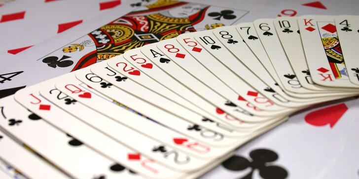 6 - týždňový kurz kartovej hry Bridž v Bratislave