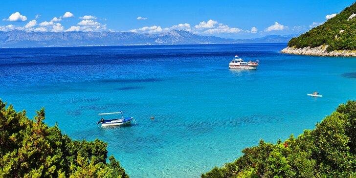 Chorvátsky ostrov Vir: 7 nocí, štúdiá a apartmány s bazénom, 80 m od pláže