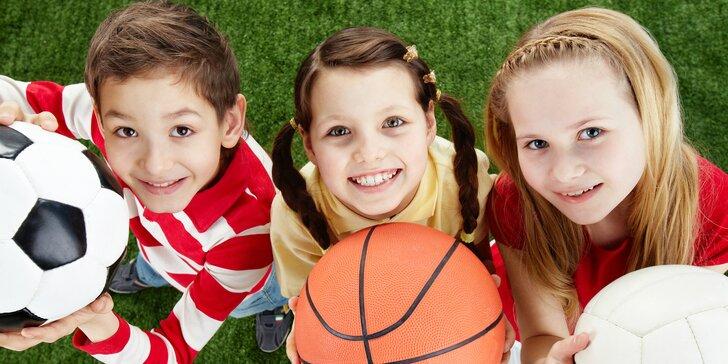 Tábor plný športu a zábavy pre deti od 8 do 15 rokov
