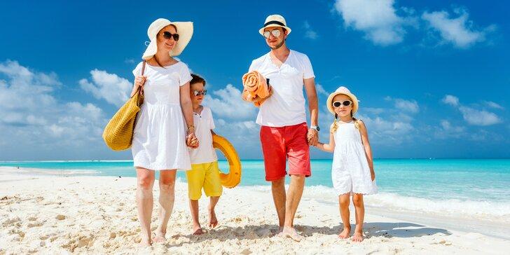 Prímorská pohodová dovolenka v Taliansku pre celú rodinu