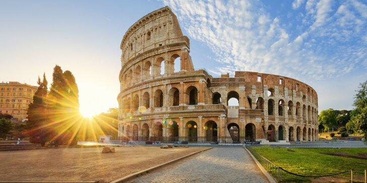 Poznávací zájazd do Ríma s návštevou Vatikánu a mestečka Tivoli