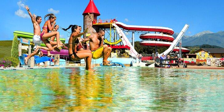 Obľúbená rodinná letná dovolenka v Penzióne Energetik*** Jasná so vstupmi do aquaparkov Tatralandia a Bešeňová pre celú rodinu