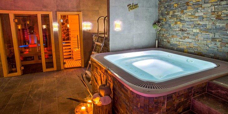 Fantastická večera a wellness pre 2 osoby v Hoteli Zerrenpach***